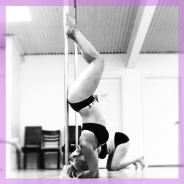 Private pole fitness lesson image